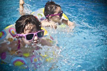 สระว่ายน้ำมีปัสสาวะปน